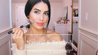 Natural and Flawless Foundation Routine