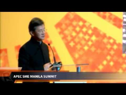 Vincent Lo at APEC SME Summit