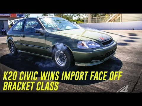K20 Civic Wins Import Face Off Bracket Class - Flako_Pics