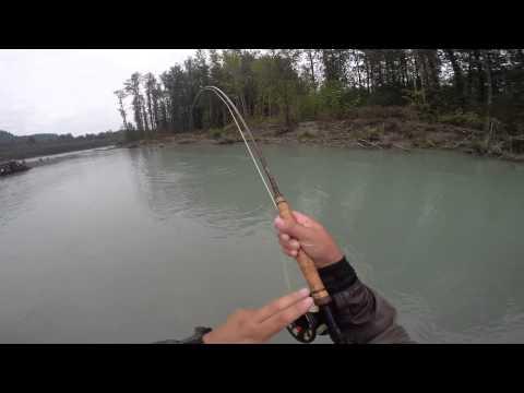 pink salmon switch fly fishing GoPro