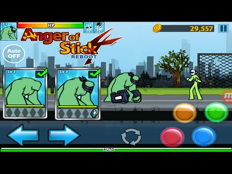 Hulk Powerup #1 | AngerOfStick 4 Android Gameplay
