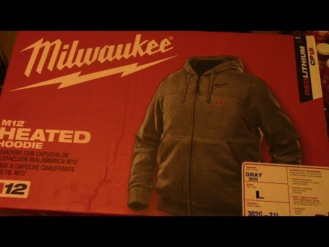 Milwaukee M12 Heated Hoodie!!! Unboxing, Test, Review!! Some Of The Best Technology On Earth..