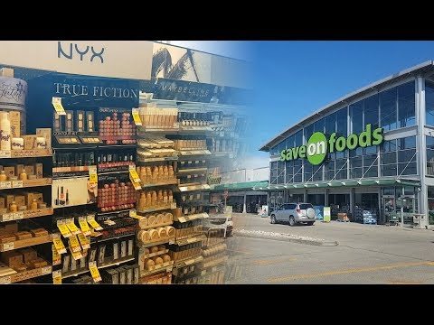 Make Up Shopping At Save-on Foods, Edmonton, Alberta | CORRIE SIDE