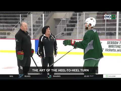 On Ice Instructional: Heel-to-heel turn with Jason Zucker