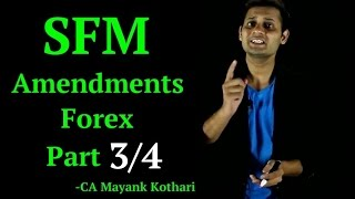 CA Final SFM - Forex Amendment Part 3/4-Cancellation of Forward Contract