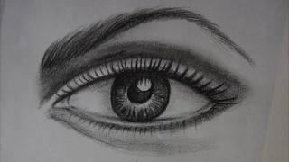 eye easy realistic step draw beginners way