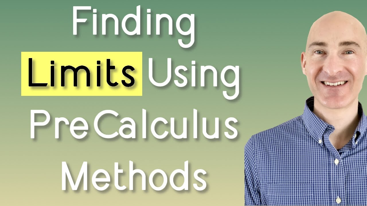 Finding Limits Precalculus Methods