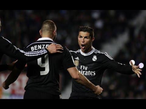 Elche 0-2 Real Madrid [HD] Goles | 22/02/2015 | COPE
