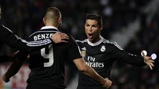 Elche 0-2 Real Madrid [HD] Goles | 22/02/2015 | COPE