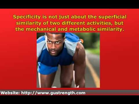 Specificity Principle of Exercise (SAID)