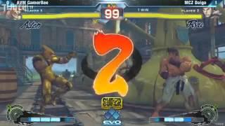 SSFIV:AE v2012, Gamerbee (Adon) vs. Daigo Umehara (Ryu) - You never...