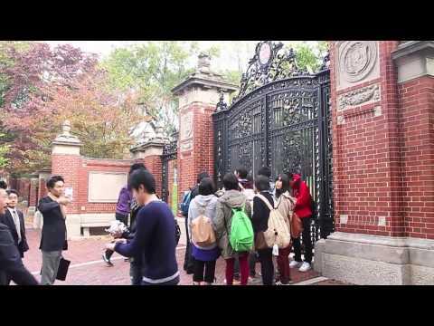 Japanese High School Students Visit Brown University