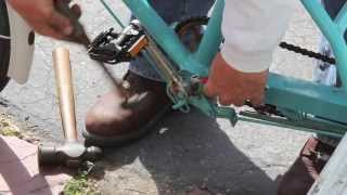 Cotter Pin Repair - Pedicab Beast - w/ Rookie Mistake - Bikemanforu