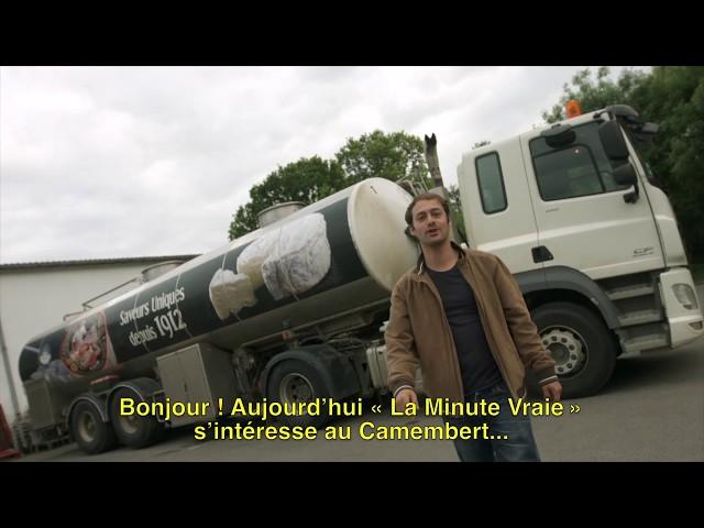 La Minute Vraie - Le Camembert de Normandie AOP Gillot