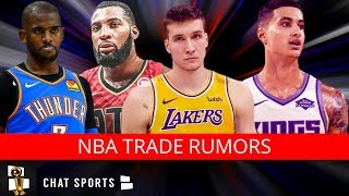 NBA Trade Rumors: Kyle Kuzma For Bogdanovic? Andre Drummond Trade? Ben Simmons For D'Angelo Russell?