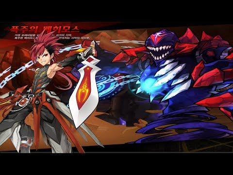 [Elsword] Transcendence Infinity Sword 7-X (8-X) Dungeon Play (Sander Secret Dungeon)