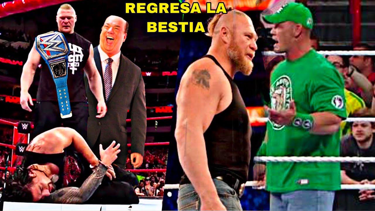 Paul Heyman Traiciona a Roman Reigns y 4 Cosas Mas que Podrian Pasar  con el Regreso de Brock Lesnar