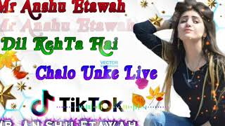 Dil Kehta Hai  !  Chal Unse Mil  ••  Female Version  !  Dj Tik Tok Remix  By ( Dj Collectio) Anshu