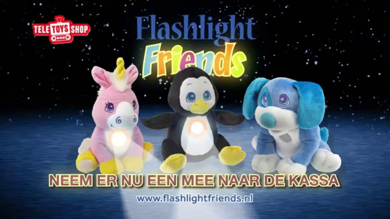 Knuffel Met Licht : Flashlights friend bij telekids toys youtube