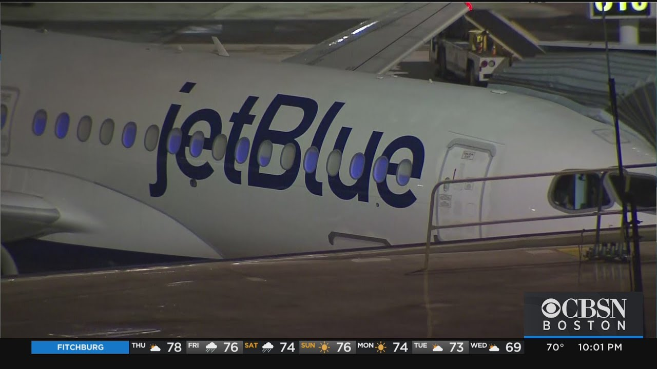 A JetBlue passenger allegedly rushed the flight deck and attacked a ...