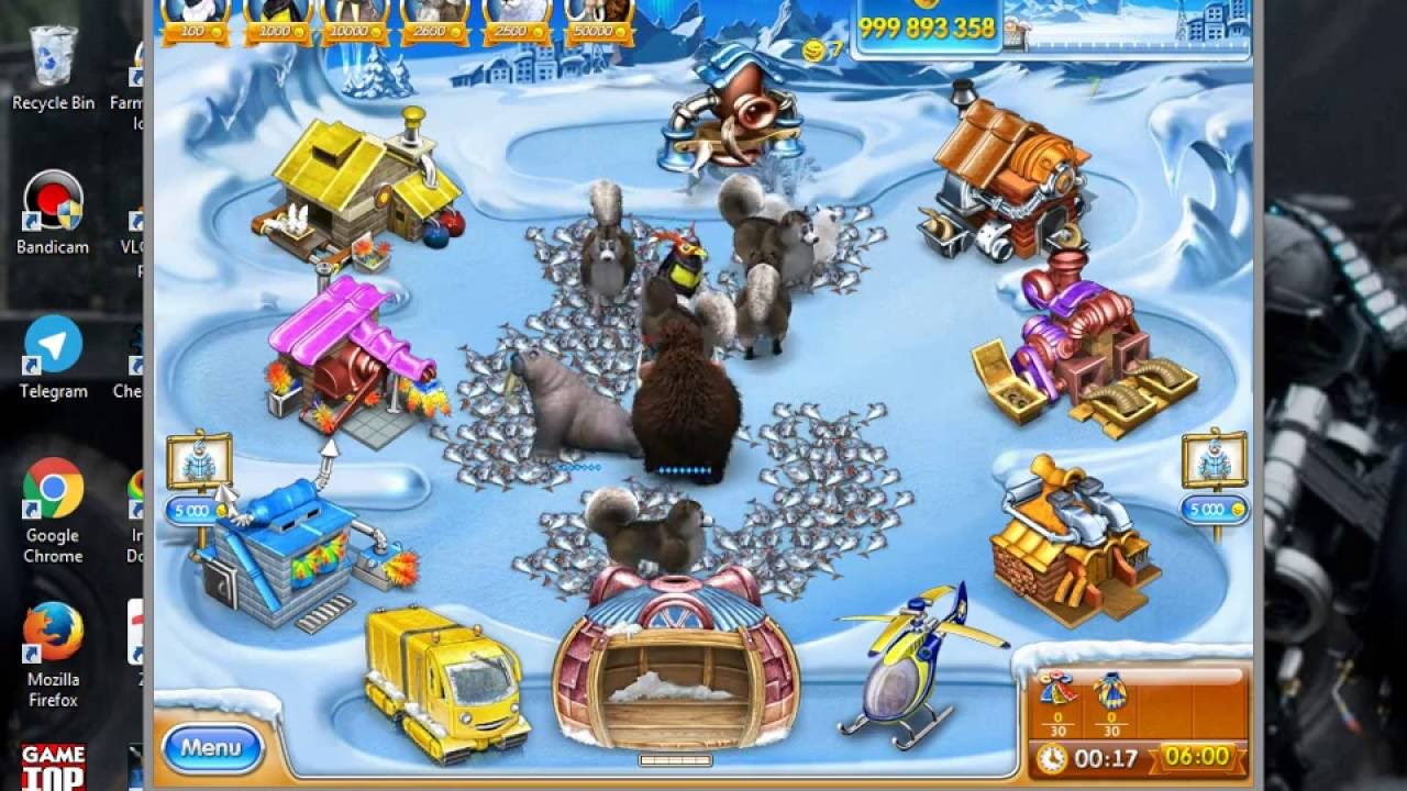 Farm Frenzy 3 Ice age Hack with cheat engine
