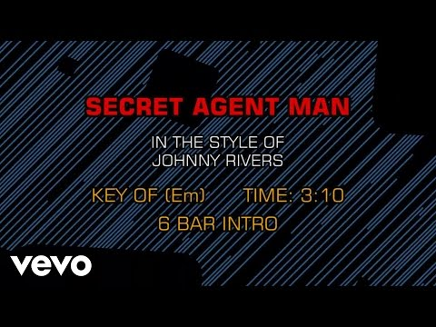 Johnny Rivers - Secret Agent Man (Karaoke)