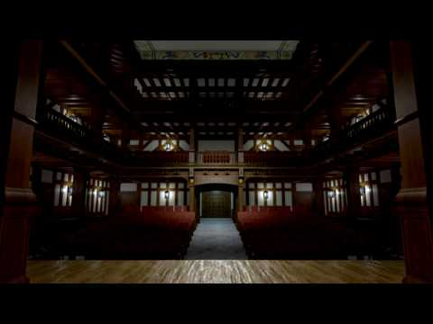 3D Model of the Folger Elizabethan Theatre