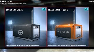 Crate Openings x10 Lucky Car Crates - HUNTING FOR S14! | Forza Motorsport 7 | SLAPTrain