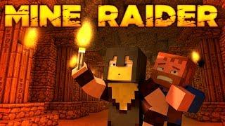 Minecraft ★ MINE RAIDER (2) (Dumb and Dumber)