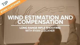 Wind Estimation and Compensation - Long Range Shooting Technique