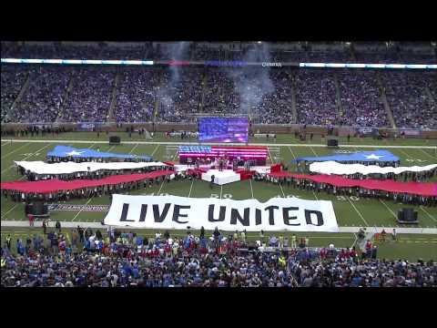 """Kid Rock """"Born Free"""" Halftime Show Thanksgiving Day"""