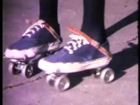 Brand New Key,pair of roller skates