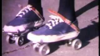 Brand New Key,  pair of roller skates