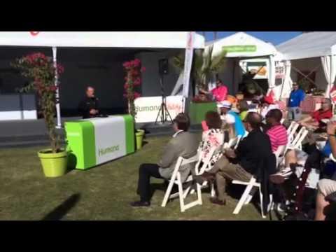 Gary Player praising Humana's health and wellness initiatives