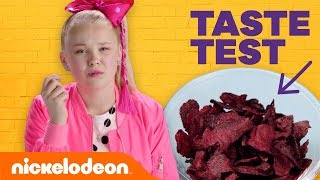 Weird Potato Chip Taste Test w/ JoJo Siwa, Kira Kosarin, Jack Griffo & More 🐙 | Nick thumbnail