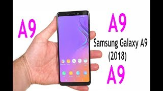 Samsung Galaxy A9 2018 First look with complete features