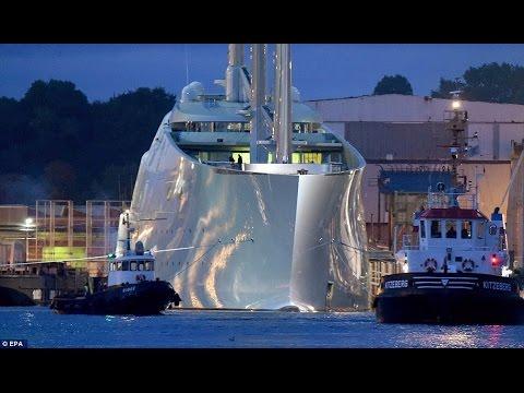 Andrey Igorevich Melnichenko Superyacht £260m