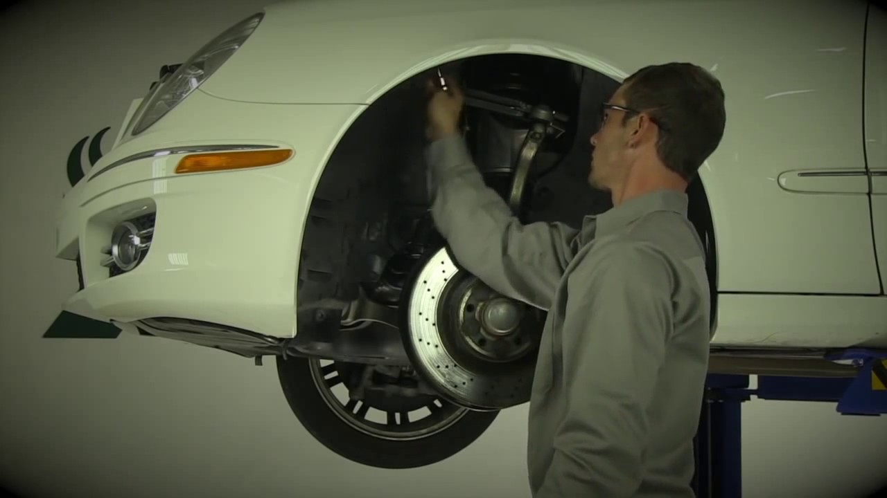 replacing the mercedes-benz® e-class (w211) front air strut with