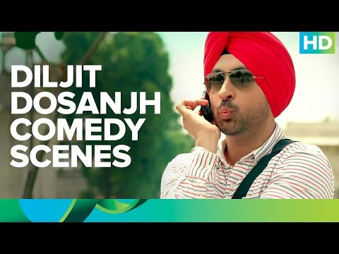 Diljit Dosanjh comedy scenes | Mukhtiar Chadha