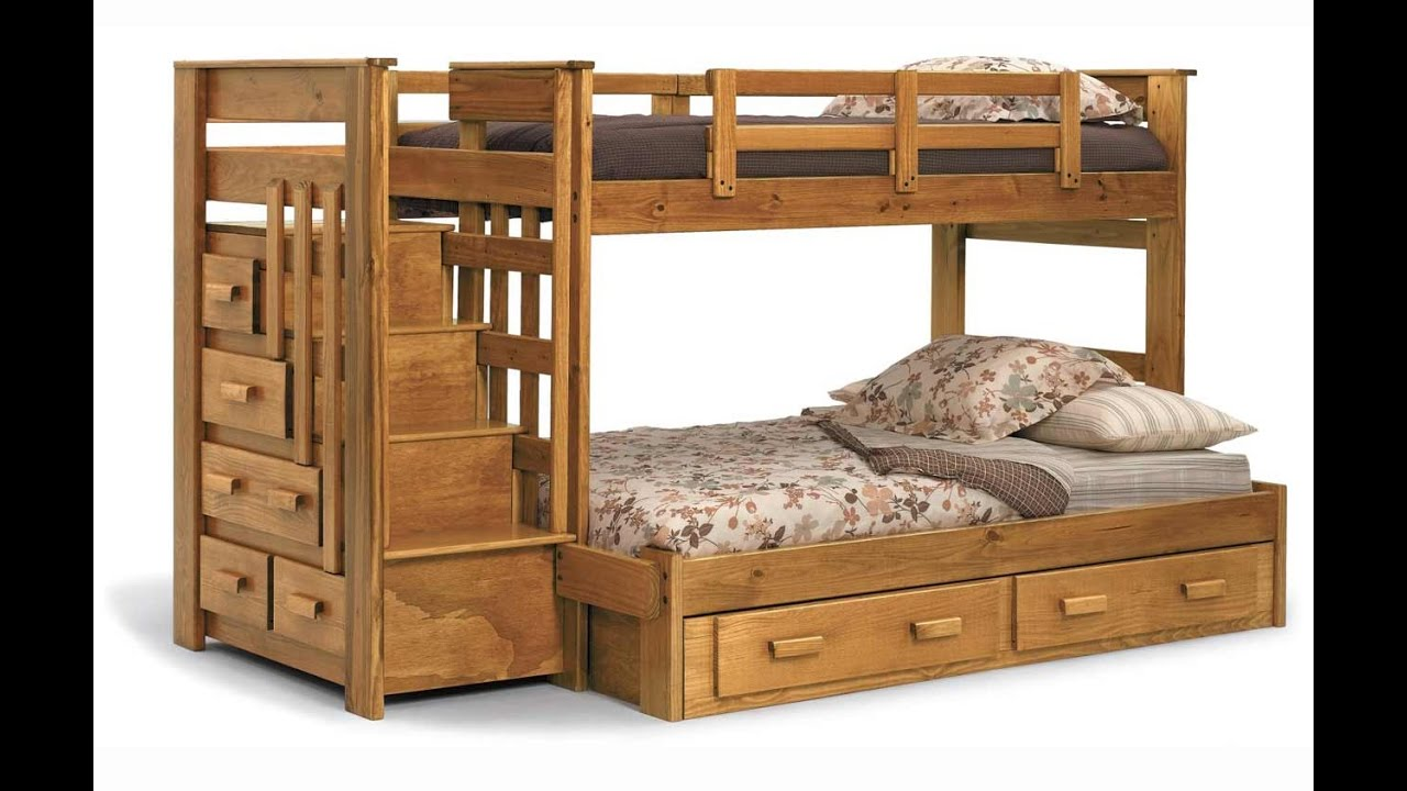 Bunk Beds For Kids With Stairs Youtube
