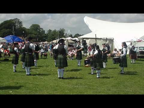 Fredericton Society of St Andrew Pipe Band, Grade 4 Medley at Antigonish Games