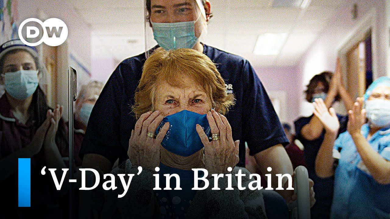 UK begins coronavirus vaccine rollout   DW News