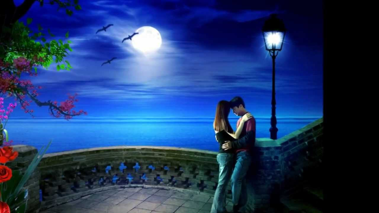 New Love cartoon Wallpaper : Romantic Song Animated-TeAmo with lyrics HD - YouTube