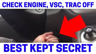 (Part 3) How To Fix Your Check Engine, VSC, Trac Off Warning Lights On
