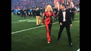 After KILLING the National Anthem  LADY GAGA everyone