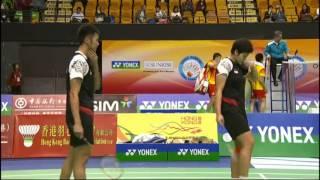 QF - XD - J.Fischer Nielsen/C.Pedersen vs F.Kurniawan/S.P.Irawati.- 2012 Hong Kong Open