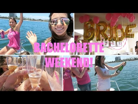 My Bachelorette Party Weekend!   hayleypaige vlogs