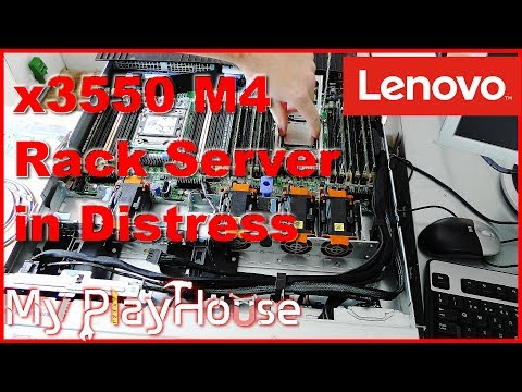 Awesome Server Rescue! Lenovo x3550 M4 Brought Back to Life - 550