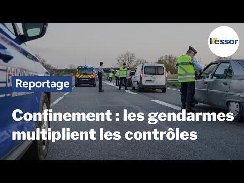 Coronavirus Covid-19 : les gendarmes mobilisés pour faire respecter le confinement