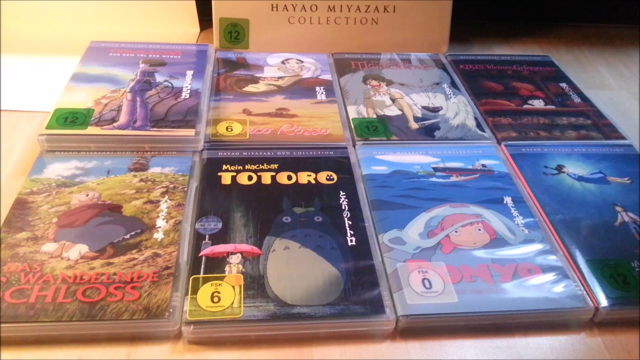 weihnachts special unboxing hayao miyazaki dvd. Black Bedroom Furniture Sets. Home Design Ideas